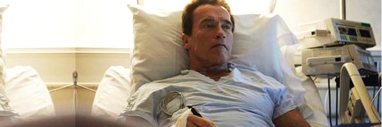 Arnold Schwarzenegger operacja