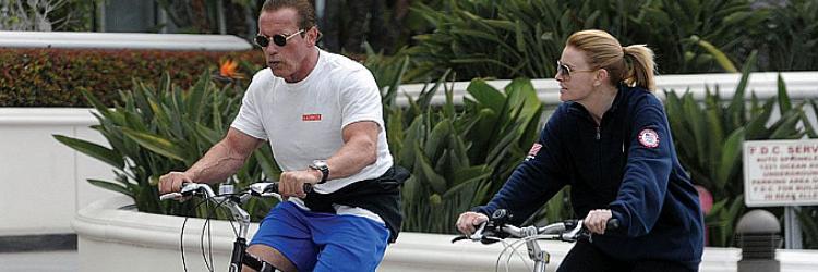 Arnold Schwarzenegger po operacji serca.