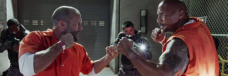 "Hobbs i Shaw (""Hobbs And Shaw"") - Jason Statham, Dwayne Johnson"