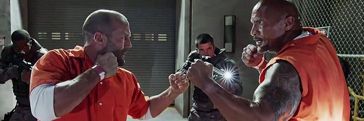 "Hobbs i Shaw (""Hobbs And Shaw"") - Jason Statham, Dwayne Johnson"