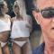 Sylvester Stallone z córkami na wakacjach.