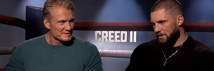 """Creed II"" - Dolph Lundgren, Michael B. Jordan"