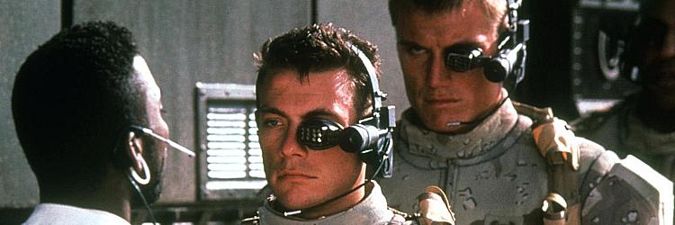 """""""Uniwersalny Żołnierz"""" (""""Universal Soldier"""") - Jean-Claude Van Damme, Dolph Lundgren"""