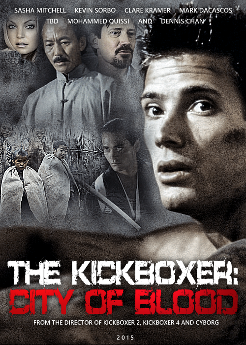 The Kickboxer 5 City Of Blood - FanMade Cover 03