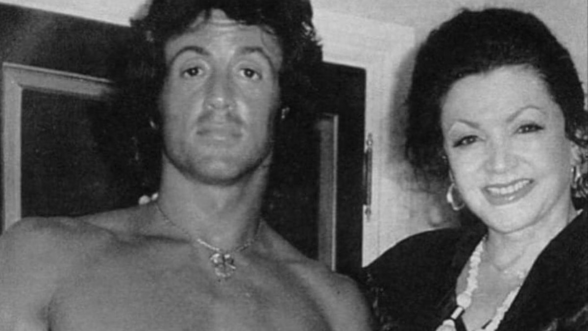 Sylvester Stallone i Jackie Stallone