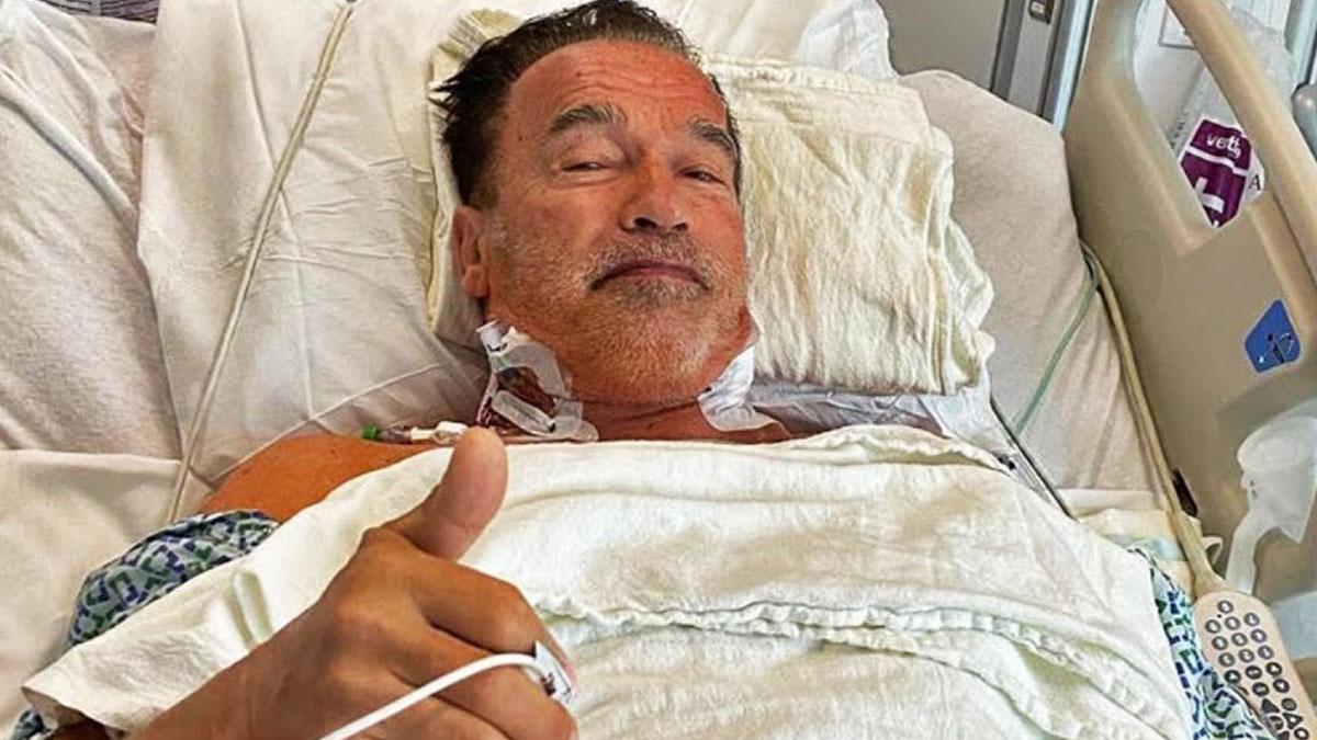 Arnold Schwarzenegger - Surgery