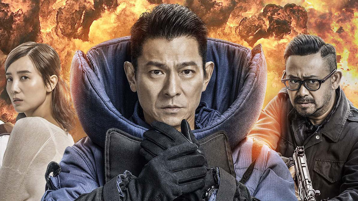 Fala Uderzeniowa 2 - Andy Lau