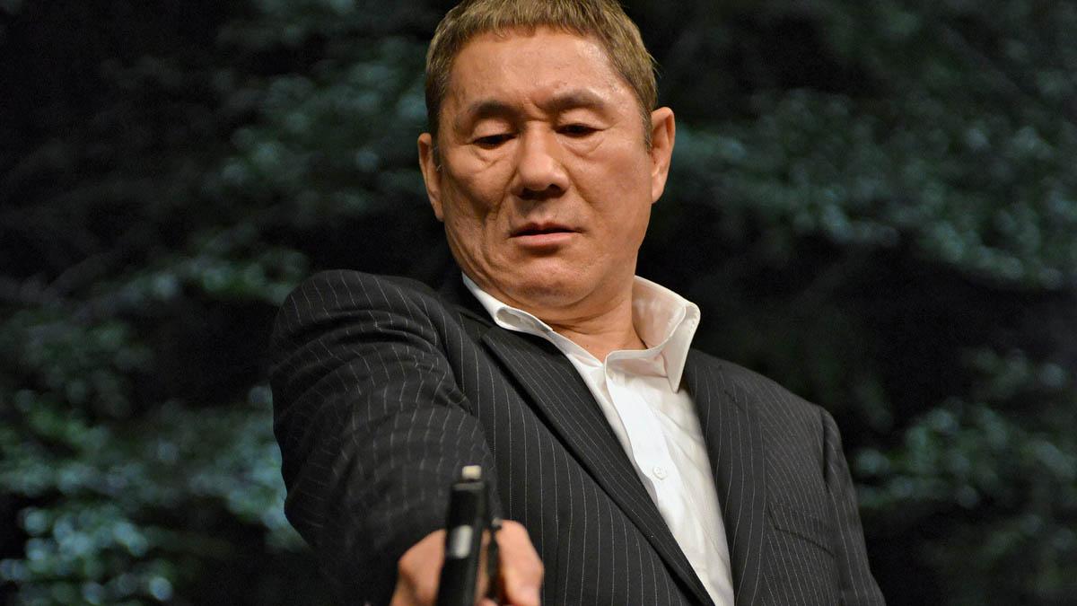 Takeshi Kitano zaatakowany.